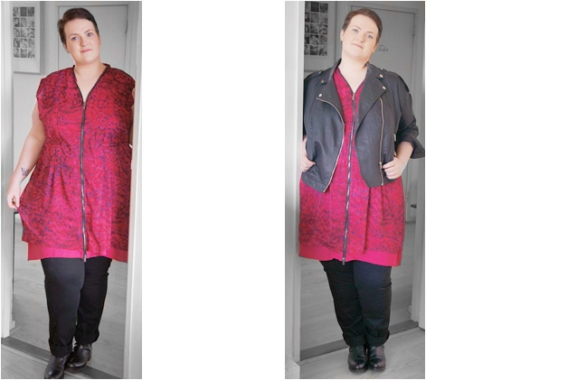 plussize outfit of the day 2 - Outfit of the day | The pink Carmakoma dress