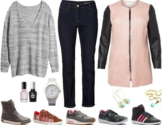 plussize outfit sporty chic - Plussize outfit inspiratie | Sporty Chic!