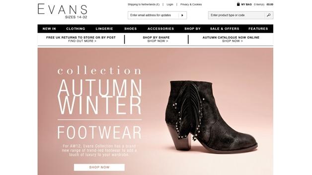 Plussize shops met laarzen