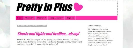 Plus Size Blog: Pretty in Plus