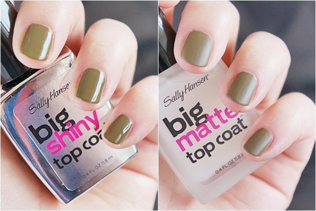 sally hansen complete salon manicure big shiny big matte top coat topcoat 11 - Sally Hansen lentenieuwtjes