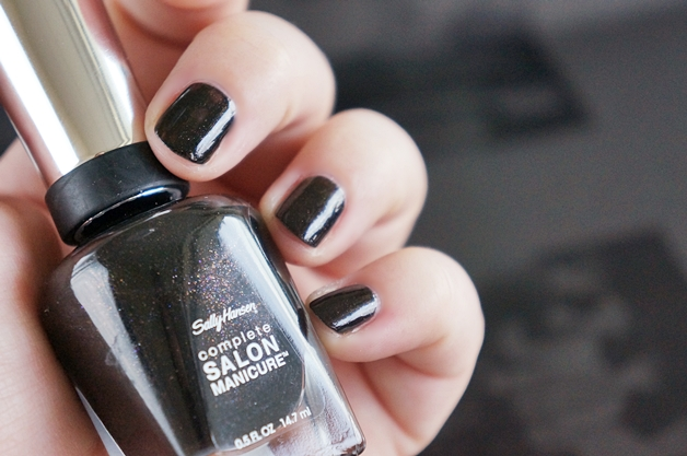 sally hansen complete salon manicure midnight in NY - 3x Sally Hansen complete salon manicure