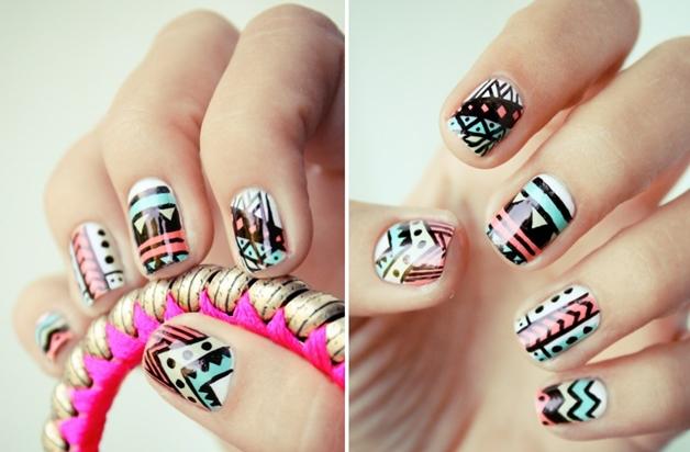 summer nail art inspiratie 13 - Inspiratie | Soft summer nail art