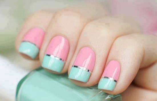 summer nail art inspiratie 4 - Inspiratie | Soft summer nail art