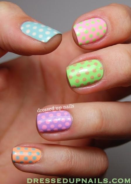 summer nail art inspiratie 6 - Inspiratie | Soft summer nail art