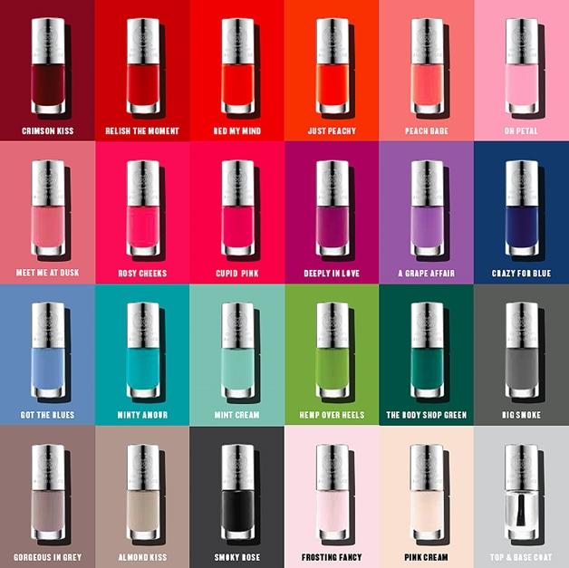 the body shop colour crush nails nagellak 1 - The Body Shop colour crush nails