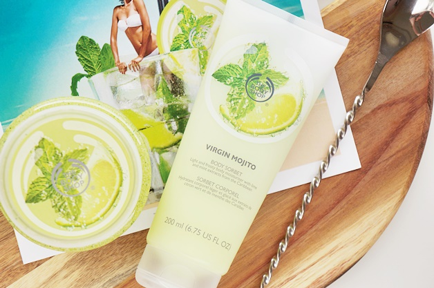 the body shop virgin mojito 1 - The Body Shop Virgin Mojito (summer limited edition)