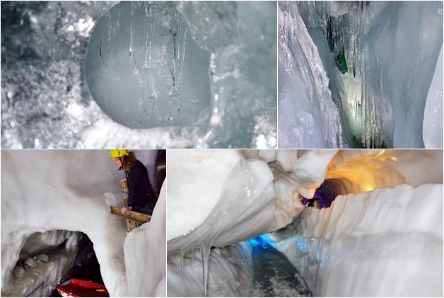 tirol oostenrijk reisverslag travel 29 - Travel report | Tirol dag 4: IJsgrotten en snowboardles