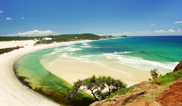 top 10 mooiste stranden fraser island - De 10 mooiste stranden ter wereld
