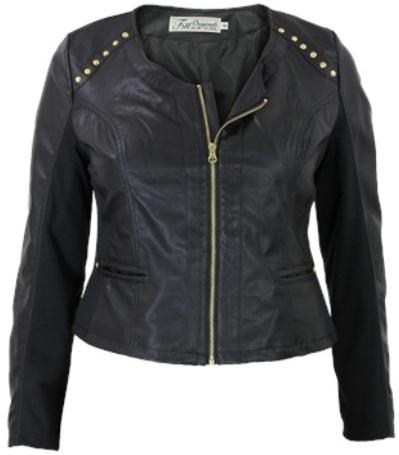 top 10 plussize leather jackets 4 - Plussize | 10 x biker jackets