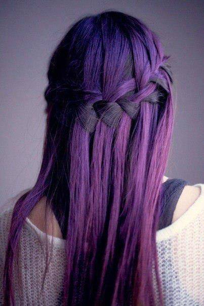 trend purple hair1 - Inspiratie | Paars haar
