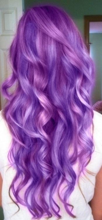 trend purple hair4 - Inspiratie | Paars haar