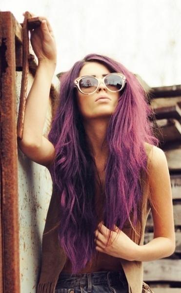 trend purple hair6 - Inspiratie | Paars haar