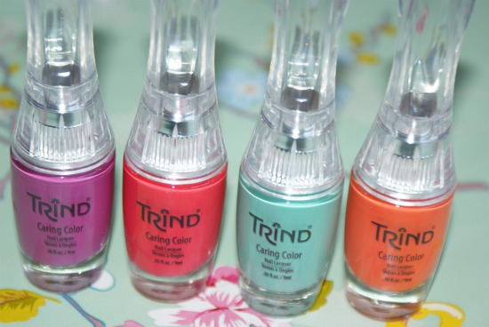 trindcaringnailcolorssummer10 - Trind Caring Colors zomercollectie (give-away!)