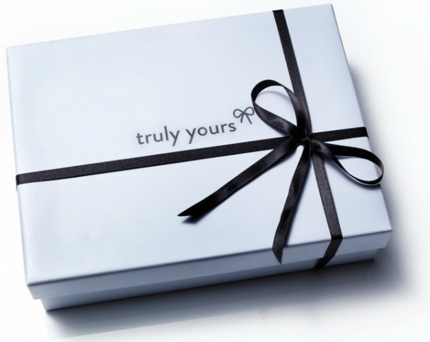 Truly Yours box