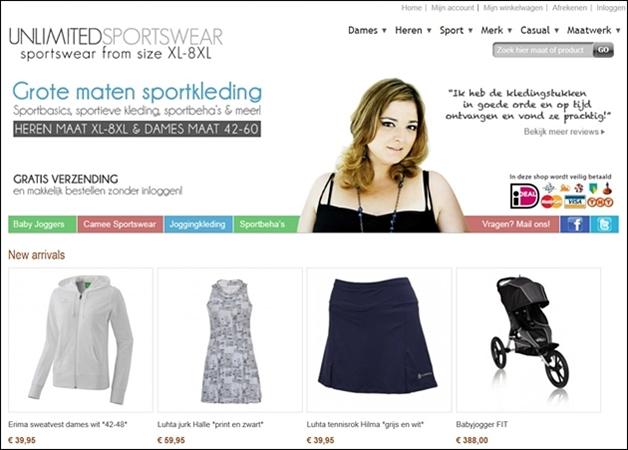 unlimitedsportswear1 - Plussize sportkleding | Pixie.nl & Unlimited Sportswear