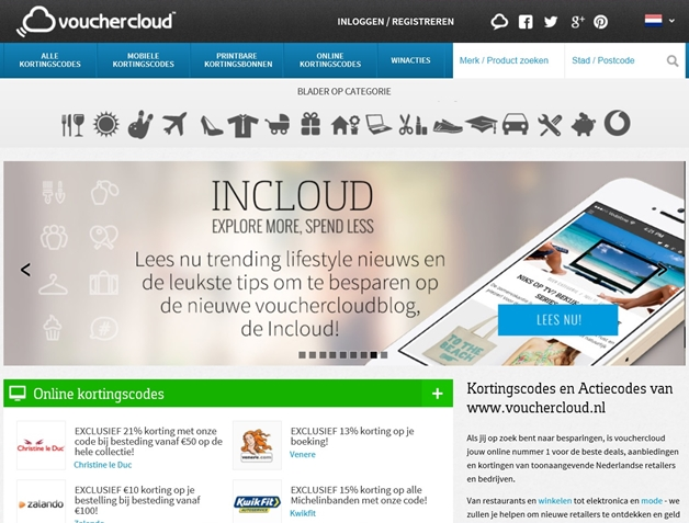 vouchercloud - Vouchercloud.nl