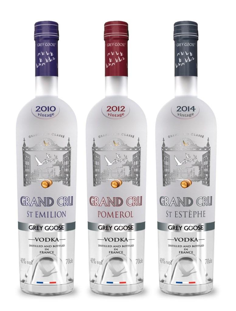 Grey Goose vintage vodka concepts