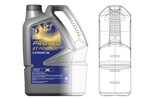 ENOC bottle CAD data & hard copy specifications