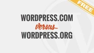WordPress - .com vs. .org