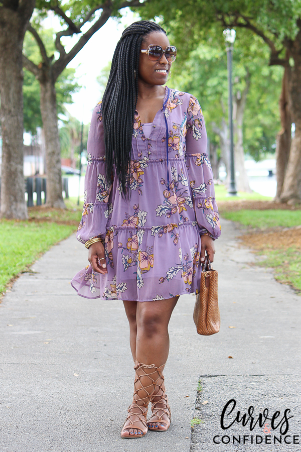 curves-and-confidence-target-xhilaration-tiered-dress-lilac