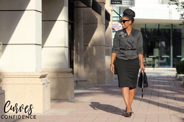 curves-and-confidence-hm-blazer-and-express-pencil-skirt