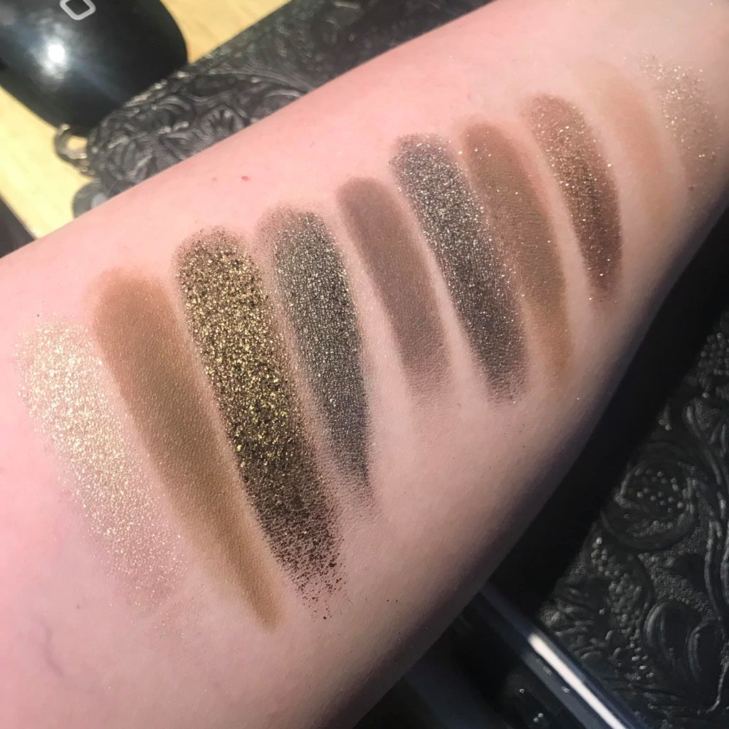 Mary Jane Palette Swatches