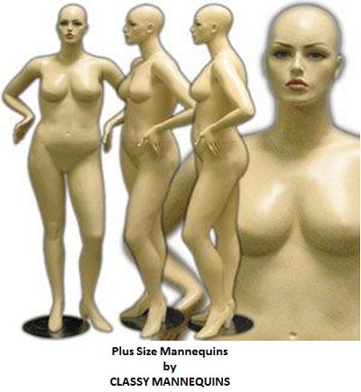 plus size mannequin