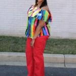 Rainbows Melanin DIY Off Shoulders Top