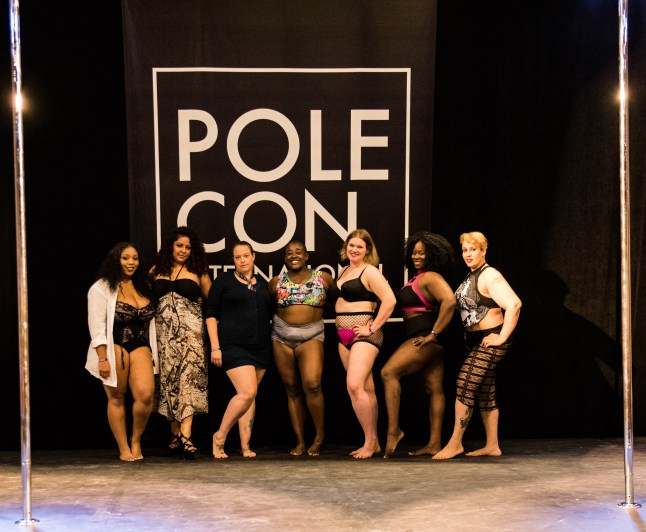 Dangerous Curves Showcase at PoleCon 2016