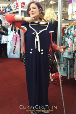 Plus size fashion at London Edge