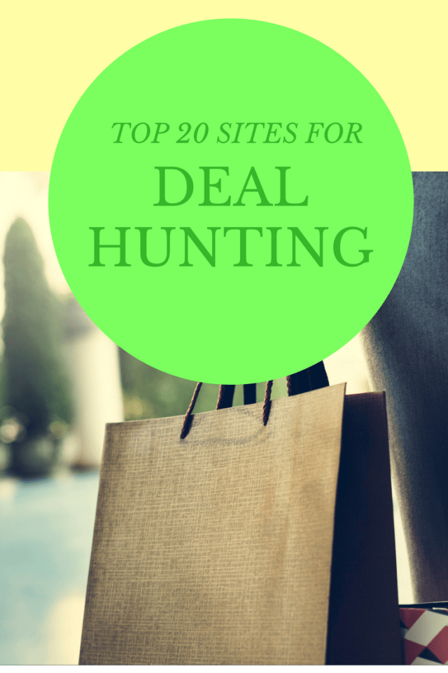 Top 20 Sites for hot deals