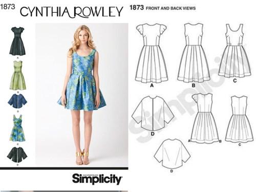 SImplicity 1873 Pattern