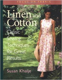 sewingwith linen