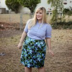 Tried and True Pattern: BlueGingerDoll Peggy Skirt