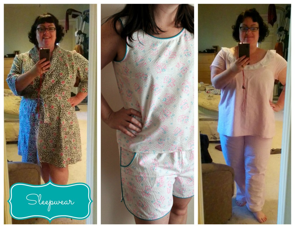 sleepwear collage