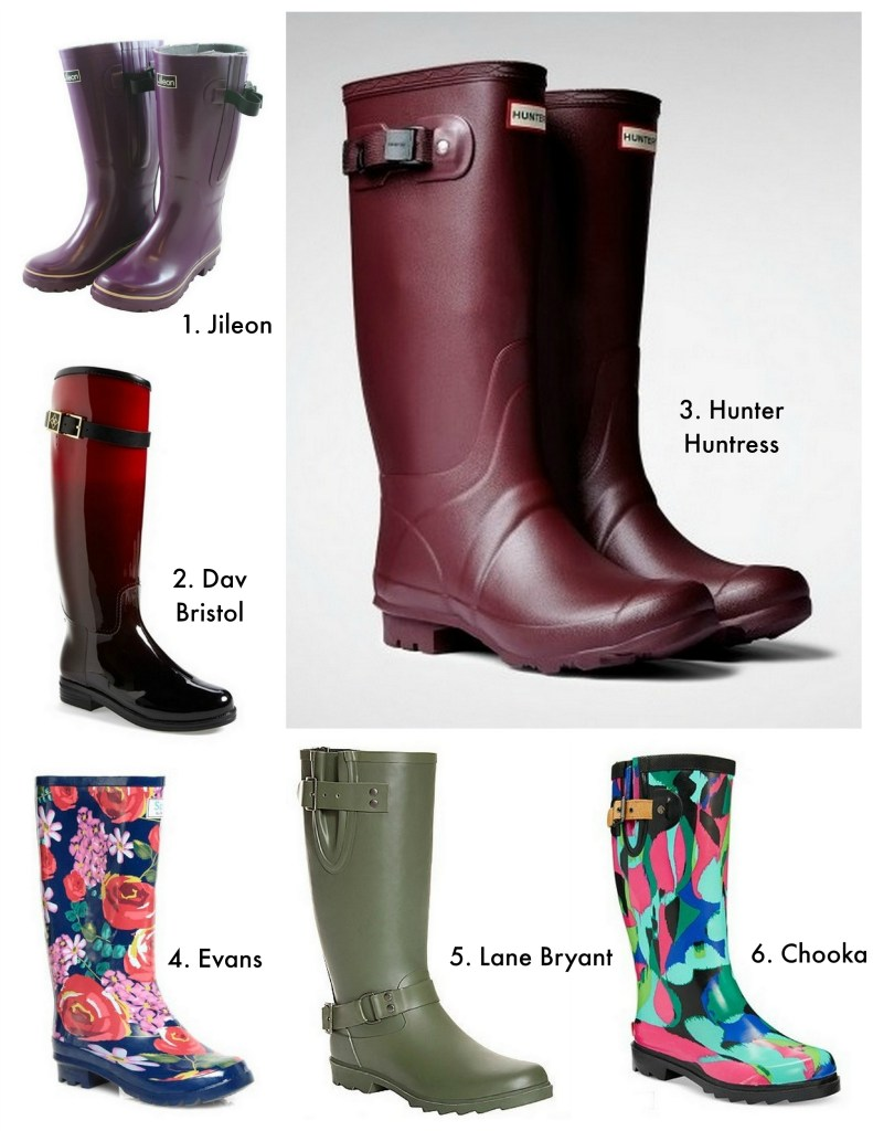 wellies collage
