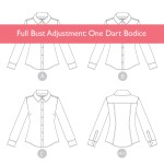 Tutorial: A Full Bust Adjustment on a One-Dart Bodice