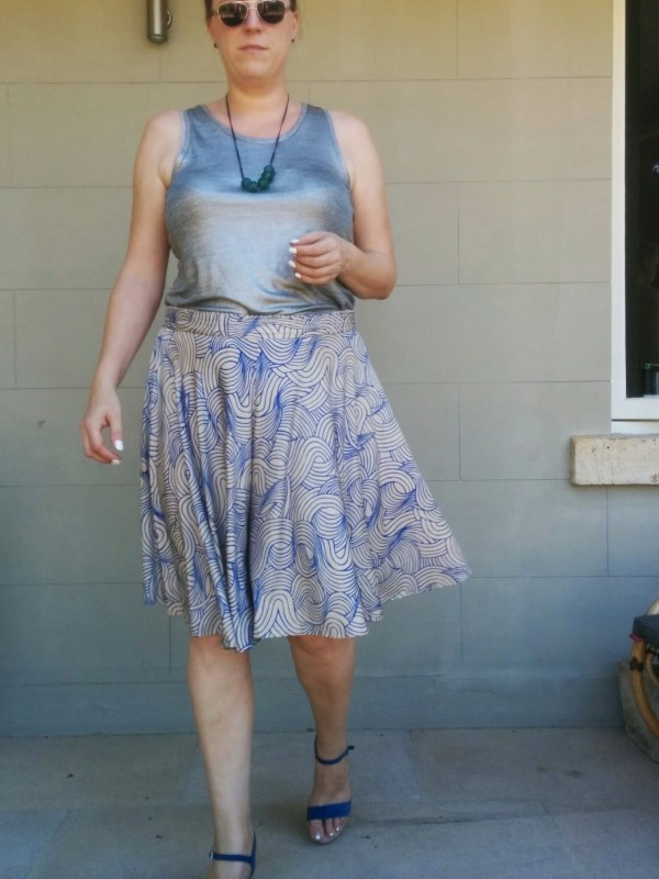 Tanya Culottes Review - Chloe