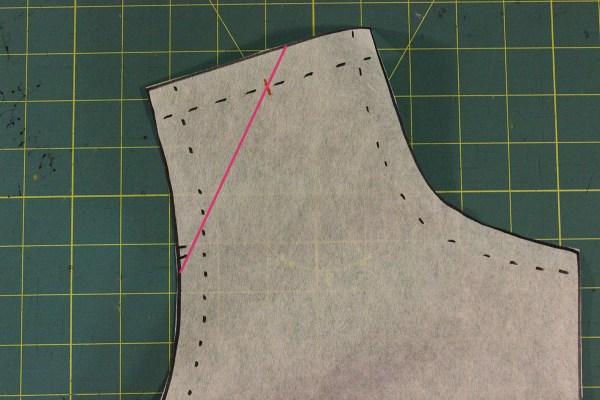 Narrow Shoulder Adjustment -Line One