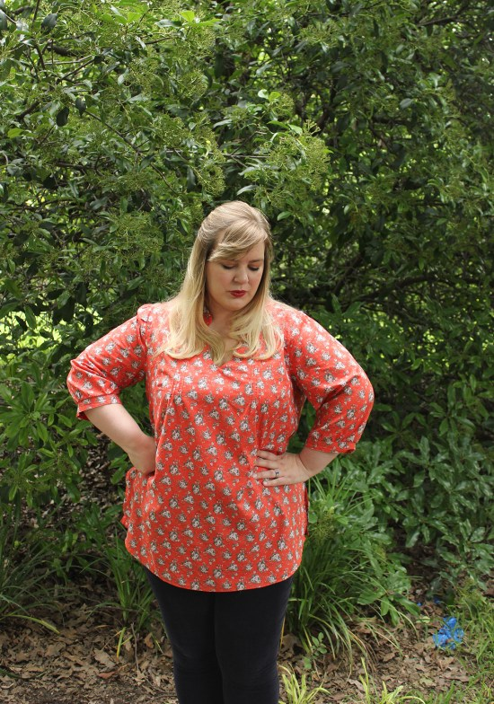 Butterick 5997 by Idle Fancy - Mood Fabrics - Ditsy Floral Lawn-7741