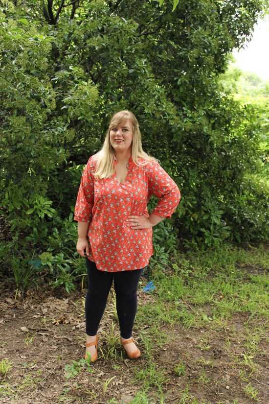 Butterick 5997 by Idle Fancy - Mood Fabrics - Ditsy Floral Lawn-7821