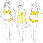 Pattern Review: Nautilus Swimsuit by SeamstressErin