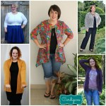 Curvy Sewn:  Your Creations for September
