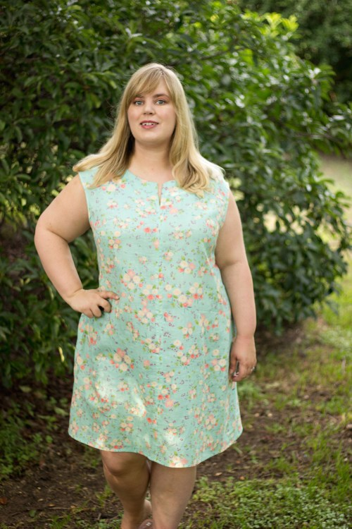 Idle Fancy - Blank Slate Leralynn Dress - Nani Iro Fabric-13