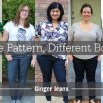 Same Pattern, Different Bodies:  Ginger Jeans