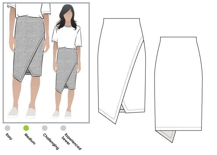 StyleArc - Halle skirt