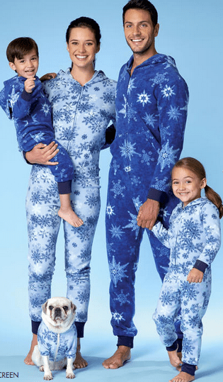 M7518 - Family pajamas