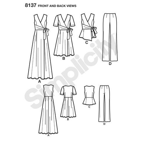simplicity-sportswear-pattern-8137-front-back-view
