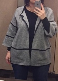 Pattern Review: Sew Different Cocoon Jacket
